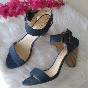 Sole Society So-missy Mary Jane Block Heels